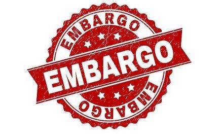 Cómo funciona un embargo económico